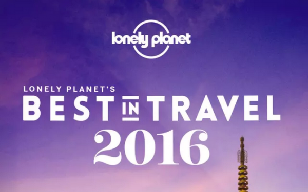 Lonely Planet:揭晓2016年最佳旅行目的地