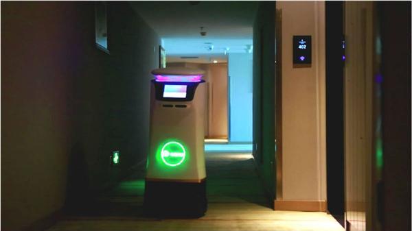 前沿科技:国内酒店机器人应用获实质性突破
