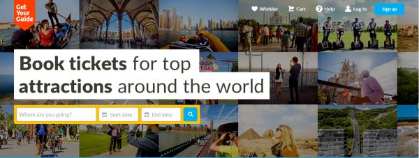 GetYourGuide:旅游活动获最大融资$5千万