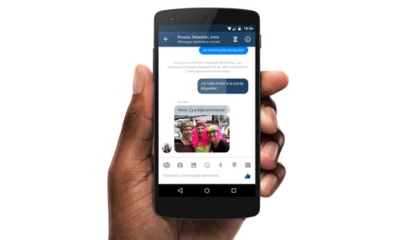 脸书Messenger:7亿用户测试阅后即焚聊天