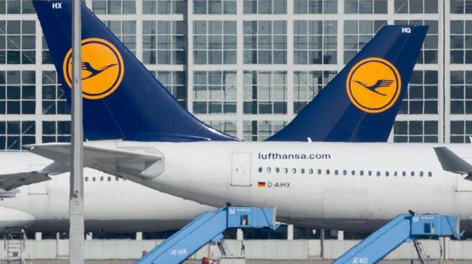 汉莎:空乘罢工929架航班11.3万乘客受影响