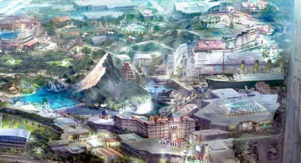 快讯:世界第三大影视主题公园有意落户深圳