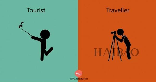 14张图解:观光者与旅行者的旅行行为差异