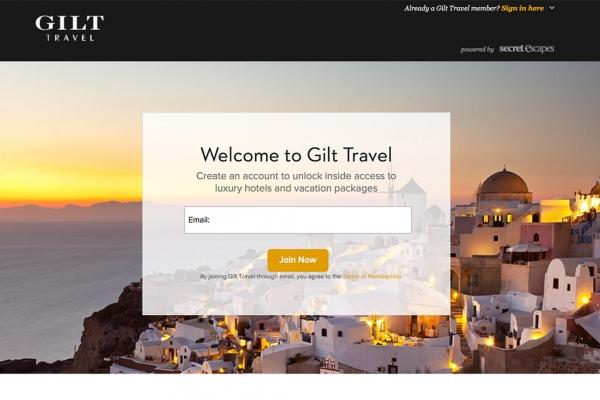 Gilt:服装配饰购物网站,缘何进军旅游行业