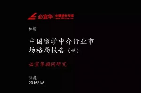 困境与破局:中国留学中介行业市场格局报告