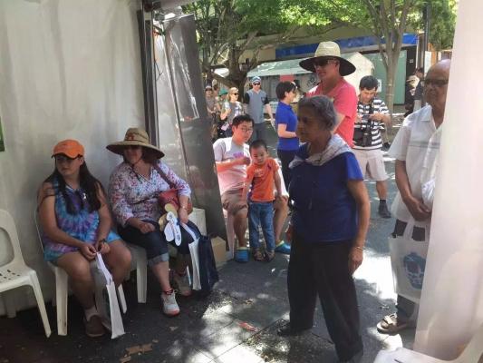 熊猫跑世界:登陆澳洲首都堪培拉多元文化节