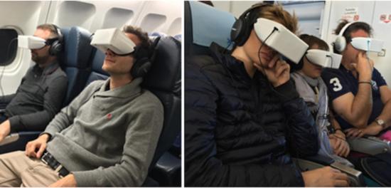 休闲航空:为乘客提供虚拟现实娱乐系统服务