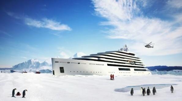探险旅游:史上最奢华极地探险游艇即将面世