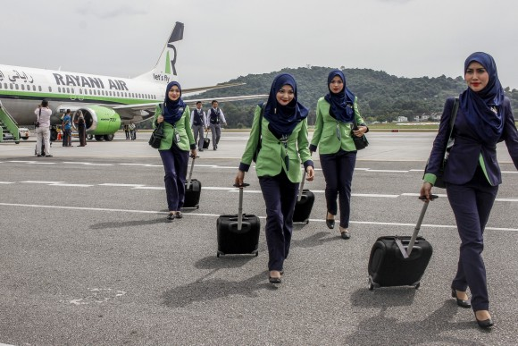 马来西亚:首家清真航空公司宣布暂时停止营运