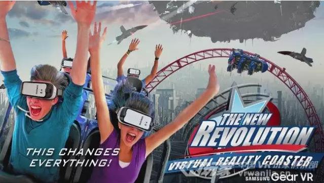 六旗游乐园:Gear VR虚拟现实过山车试玩体验