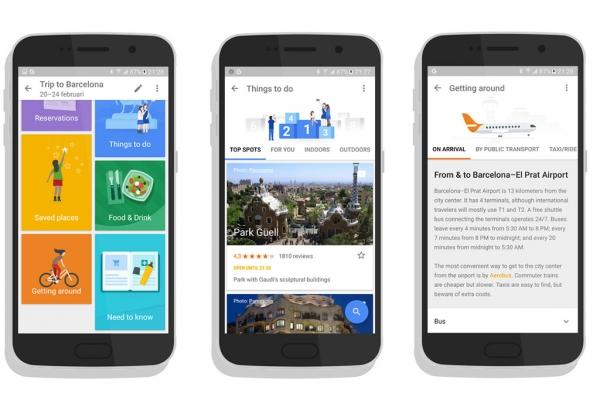 Google Trips:强势来袭 威胁各旅游目的地App