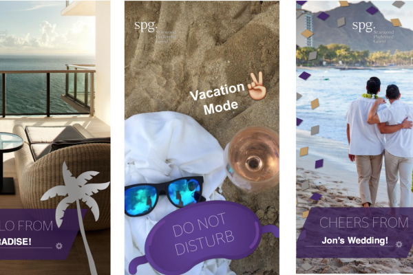 喜达屋:利用Snapchat营销,推广忠诚度计划