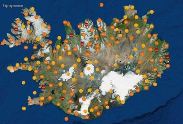 精灵生活地:一幅地图如何改变冰岛旅游格局
