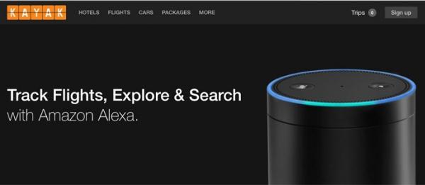 Amazon Alexa:助旅游搜索公司实现语音预订