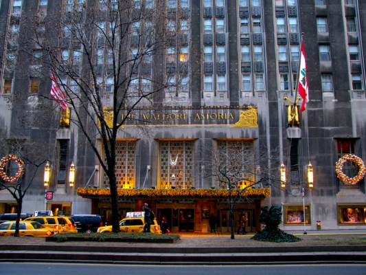 安邦:拟关华尔道夫酒店3/4客房 或改私人公寓