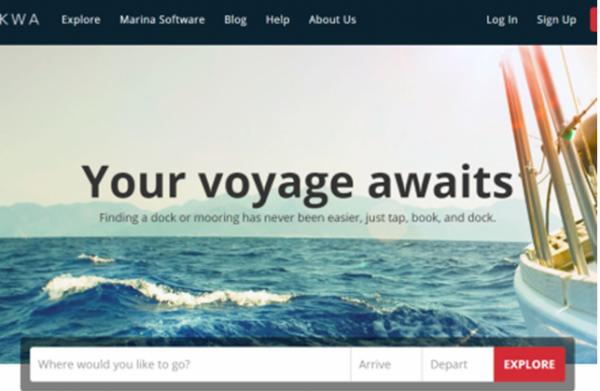 Dockwa:游船预订平台获200万美元种子轮