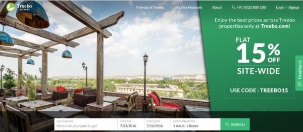 Treebo:印度OTA拟融资3000万 中资或参与