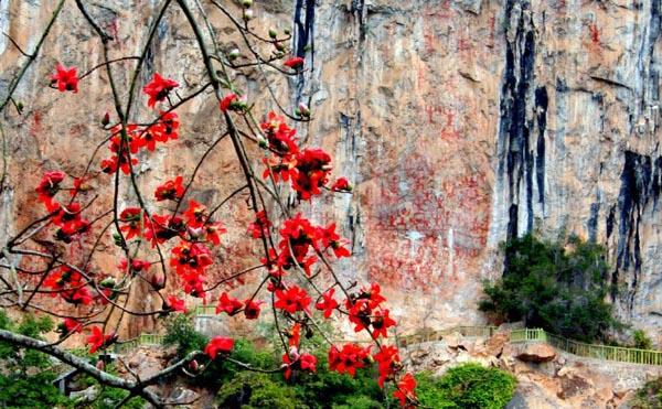 花山岩画:广西首个世遗填中国岩画类申遗空白