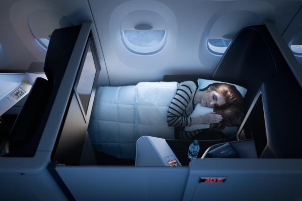 达美航空:全新商务套舱亮相 再次超越竞争对手