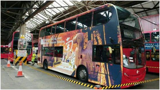 解读:当城市公交巴士喷绘的惊艳邂逅旅游宣传