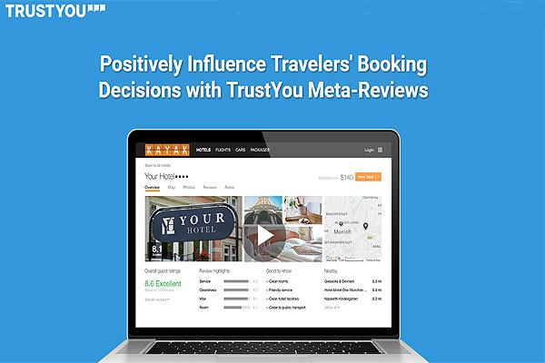 TrustYou:联手eRevMax 创酒店一体化管理平台