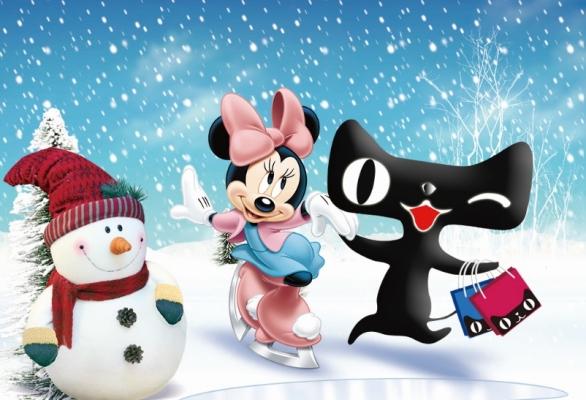 上海迪士尼:携手天猫双11,猫和老鼠在一起