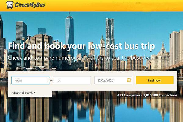 CheckMyBus:携手Busbud 拓展全球巴士库存