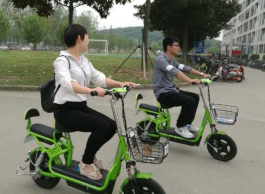 猎吧租车:电动自行车共享,每小时1元已运营