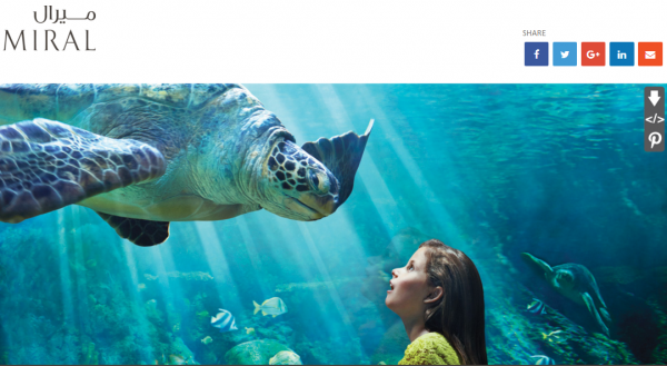 Miral:计划在阿布扎比亚斯岛开发海洋世界