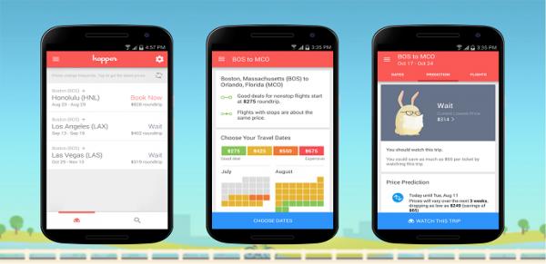 Hopper:机票预测和预订App发展迅猛 再融C轮