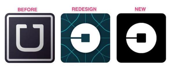 Uber:再次调整应用图标,设计回归简洁