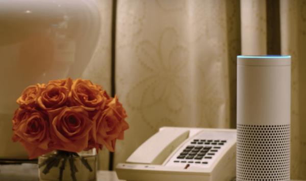 永利:声控技术前沿 4748间客房配亚马逊Echo