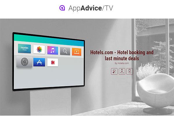 Hotels.com:推出AppleTV App 提供旅游灵感