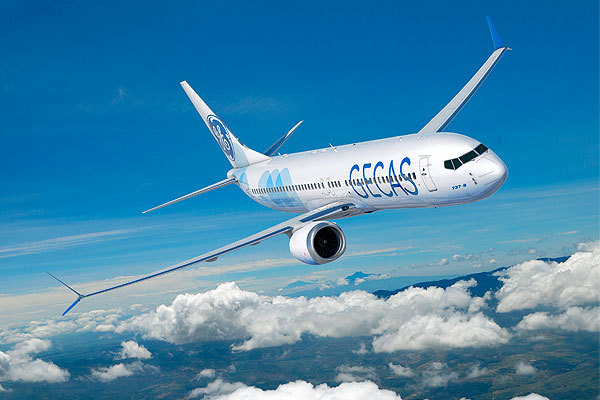 GECAS:订购75架波音最畅销款737MAX