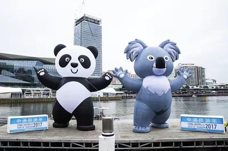 海外营销:这一次在情人港,熊猫牵了考拉的手