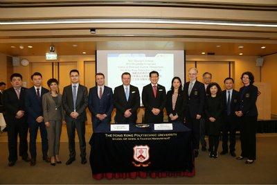 海航酒店集团:与香港理工大学校企合作签约