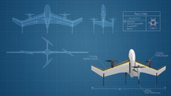 傲势科技:抢先Google一步 推固定翼飞行器