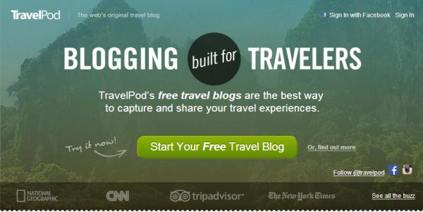 TripAdvisor:将关闭旅游博客平台TravelPod