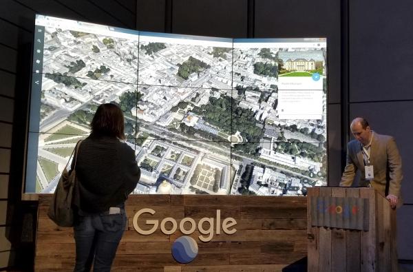 谷歌:升级三维地图 注重目的地探索与娱乐