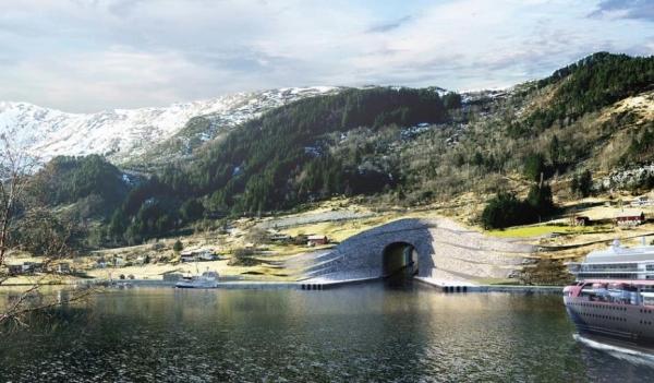 挪威:将斥资3.13亿美元 建全球首条船舶隧道