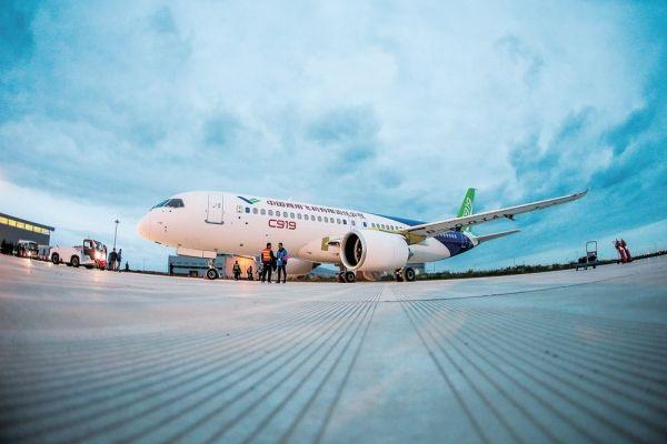 中国:将成全球最大飞机市场 C919占一席之地