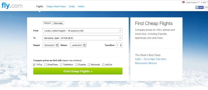 Travelzoo:关闭搜索业务 并出售Fly.com域名