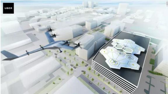Uber:曝光最新进展 计划2020年推出飞行汽车