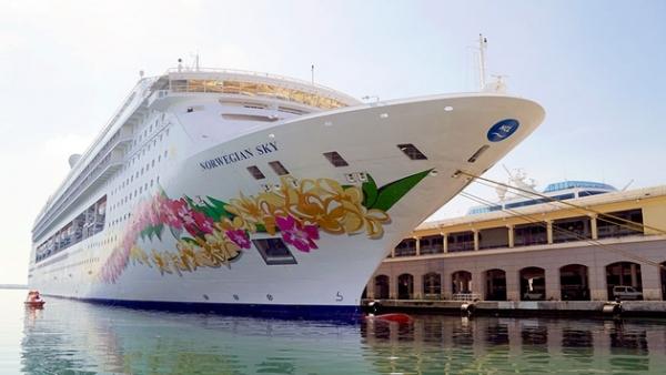 诺唯真邮轮:天空号在古巴哈瓦那盛大开幕