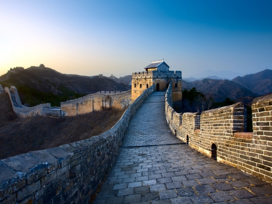 Great Wall Tower at jinshanling, near Beijing, China