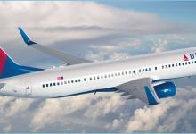 达美航空:4月将继续禁售客机中间座位