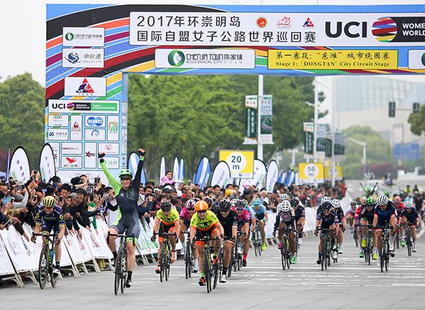 """高端自行车赛:发展体育和旅游产业的""""招牌"""""""
