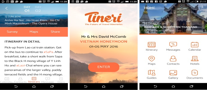 Open Destinations:收购移动行程App Tineri