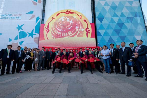 一带一路:北京旅游惊艳亮相阿斯塔纳世博会