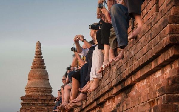 缅甸文化部:为保护古迹禁止游客攀爬蒲甘寺庙